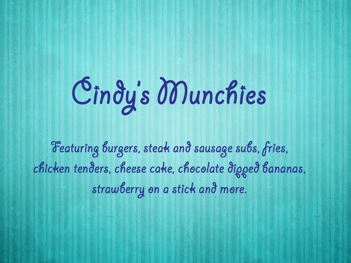 Cindys Munchies Card